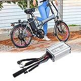 Ichiias 6 Tube Regulator 250W/350W Motor Electric Scooter Regulator, Electric Bicycle Controller, Electric Accessory Kit for Electric Bike Electric Bicycle