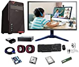 Rolltop® Assembled Desktop Computer,Intel Core 2 Duo 3.0 GHZ Processor,G 41 Motherboard, 15' LED Monitor,4GB RAM, DVD,Windows 7 & Office Trial Version with Web Camera Mic Speaker 250GB