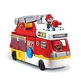VTech - Tut Tut Copains - Super Camion Caserne de Pompiers, échelle, camion,...