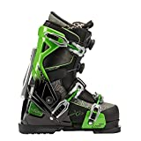 Apex Ski Boots Antero XP Topo Edition - Big Mountain Ski Boots (Men's Size 28) Walkable Ski Boot System with Open-Chassis Frame for Advanced & Expert Skiers