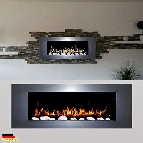 Gel and Ethanol Wall Fireplace White – elegant design – 1000 and a Night