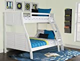 Powell Furniture Easton, White Bunk Bed,