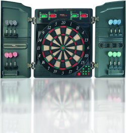 Dartboard Elektronische Dartscheibe Cricket Dart CB40CW