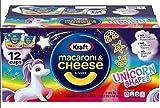 Kraft Kids Unicorn Shapes Easy Mac and Cheese 12 Cups | 1.9 Oz Each