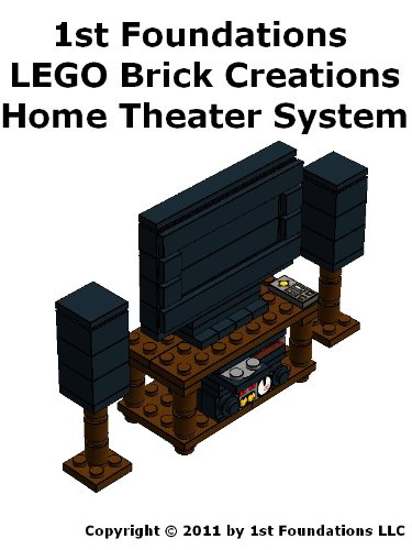 1st Foundations LEGO Brick Creations - Home Theater System (Home Furnishings)