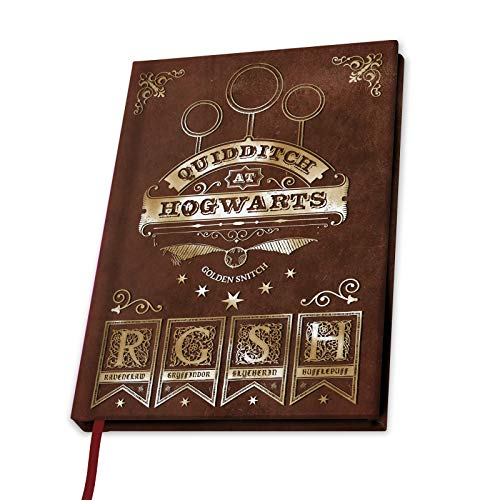 ABYstyle - Harry Potter - Cuaderno A5 - Quidditch