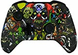 Xbox One S/X Modded Custom Rapid Fire Controller Scary Party Soft Touch with White LED X