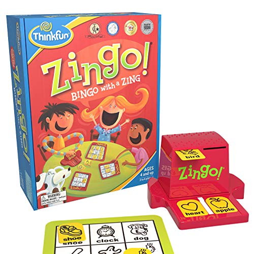 ThinkFun Zingo Bingo Award Winning Preschool Game for Pre-Readers and Early...