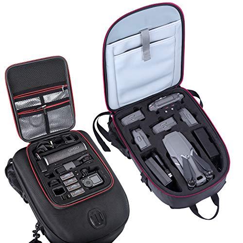 Smatree Zaino per DJI Mavic 2 Pro/Zoom e DJI OSMO Pocket/OSMO Action/GoPro Hero 2018 / GoPro Hero 7/6/5/4/3 + / 3/2/1 (Drone, Telecamere e accessori NON sono inclusi)