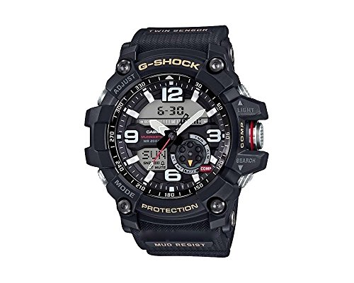 Casio Herren MultiZifferblatt Quarz mit Resin Armbanduhr GG10001AER