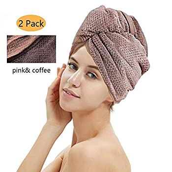 1. Premium quality and absorbent material : made of high quality microfiber fabric material ,extremely soft and super absorbent , cut the time to dry your hair ,machine washable. 2.Shorten the time to dry hair : dries your hair fast and save your tim...