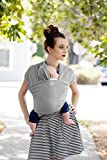Moby Wrap Baby Carrier - Limited Edition Coastal Collection - Harbor Mist