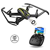 DROCON Navigator/U31W Wi-Fi FPV Quadcopter Drone with 720P HD Camera - 120 Degree Wide-Angle, Altitude Hold, Headless Mode, One Button Take Off/Landing/Emergency Stop All Included for Beginners