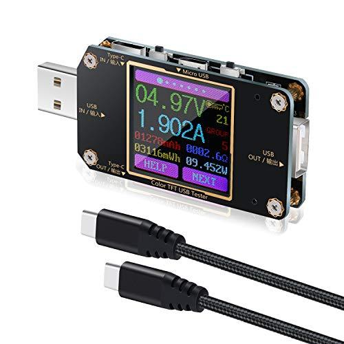 USB-C Power Meter Tester, Ever same USB Voltmeter