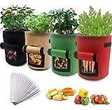 Bst4UDirect Plant Grow Bags, Tomate, Pomme De Terre, Fraise, Fleur,...