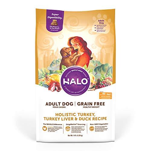 Halo Grain Free Natural Dry Dog Food - Premium and...