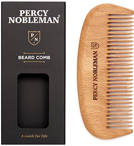 Percy Nobleman Barba Comb–Legno Pettine–handemade