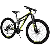 Huffy 26-inch Oxide Mens Mountain Bike - Dual Suspension