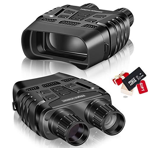 Binocolo Digitale a Infrarossi Visione Notturna Visore IR Notturno per Caccia con LCD TFT 2,31',...