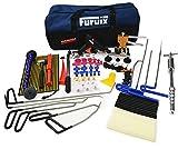 Furuix Car Dent Remover Paintless Dent Repair Kit/Paintless Dent Removal Rods Dent Puller Dent Lifter Paintless Dent Repair Light Slide Hammer Dent Glue Kit PDR Kit