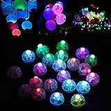 Dsaren LED Lampe De Ballon, 30pcs Mini Lanterne Lumière Flash pour Mariage...