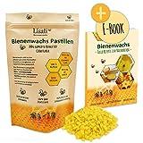 Pastillas de cera de abeja de apicultor 100 % naturales, fundido rápido, ideales para la...