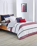 Lacoste Milady Comforter Set, King, Red