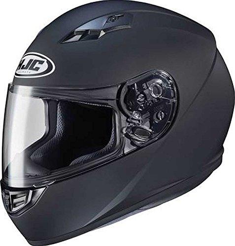 HJC Solid Adult CS-R3 Street Motorcycle Helmet - Matte Black/Small