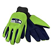 Forever Collectibles 100% Licensed Product by the NFL, NCAA, NBA, MLB, NHL, MLS Made of High-Quality 100% Polyester Material Durable Design for Comfort, while completing your Household and Utility needs. Features Rib-Knit Wrist Cuffs so the gloves fi...