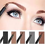 HITTIME Waterof Smooth Automatic Eyebrow Eyeliner Pencil Powder Shapper Brown-5# (Misc.)