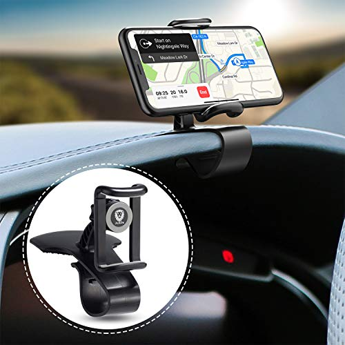 JunDa Car Phone Holder 360-degree Rotation Cell Phone Holder