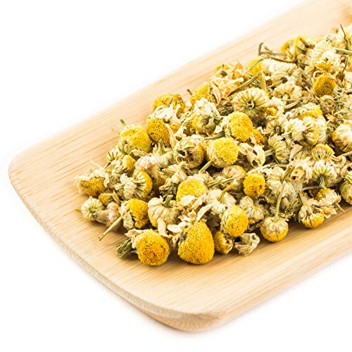 Premium Kamille aus Kreta (Griechenland) - Hochwertige Gewürze - Natürliche Kräuter - Glas