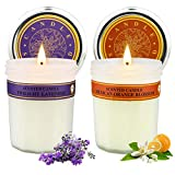 Aromatherapy Jar Candles Christmas Gifts Set for Women, Scented Candles Premium Long Lasting Subtle...