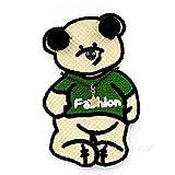 iron on patch,parches para ropa,Aplique de bordado, utilizado para decorar ropa para reparar agujeros en la ropa, vestido verde grande lleva 1 pieza