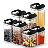 JOLVVN Lot de 7 boite hermetique alimentaire en plastique durable sans BPA boite...