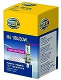 HELLA H4 100/80W High Wattage Bulb, 12V