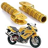 バイク用 ステップ フロントペダル ノンスリップ シルバートーン フットペグ 対応車種 ホンダ Honda