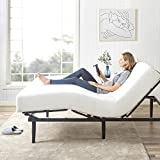 Zinus - Jared - Adjustable Bed Frame Base / Mattress Foundation with Remote / Whisper-Quiet Motorized Movement / Ergonomic Positioning for Better Health and Relaxation , Queen
