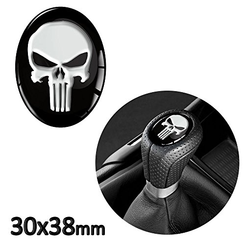 1 x 3D Sticker for Shift Lever Gear Knob JDM S 30