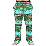 National Lampoon's Griswold Family Christmas Vacation Fair isle Lounge Pants (Adult Large)