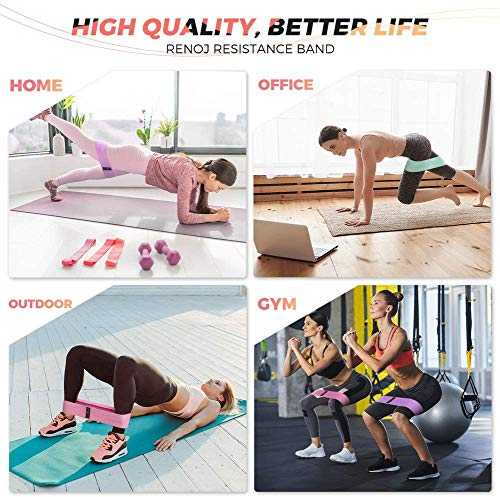 Pilates Ring Exercise Equipment for Inner & Outer Thigh, Abs, Legs, Muscle Strength includes Resistance Bands for Butt Squat Workout, Body Balance Stability & a Yoga Ring for Men and Women Fitness 3
