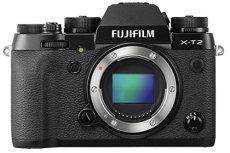 """Fujifilm X-T2 - Cámara sin espejo de óptica intercambiable de 24,3 MP (pantalla LCD de 3"""", APS-C""""X-Trans CMOS III"""", 100-51200, estabilizador tipo OIS, WiFi, video 4K), negro - solo el cuerpo"""