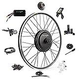 Ebike Conversion Kit 48V 1200W 700C Direct Drive Waterproof Electric Bike Conversion Kit - Ebike Kit - Hub Motor Kit S830 LCD Display (Rear/LCD/Twist)