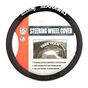 Show your team spirit with this NFL steering Wheel cover Includes poly-suede material for comfortable grip Slips on easily Printed with your favorite team's logo Officially licensed product Comfortable Grip Printed with official team colors Designed ...