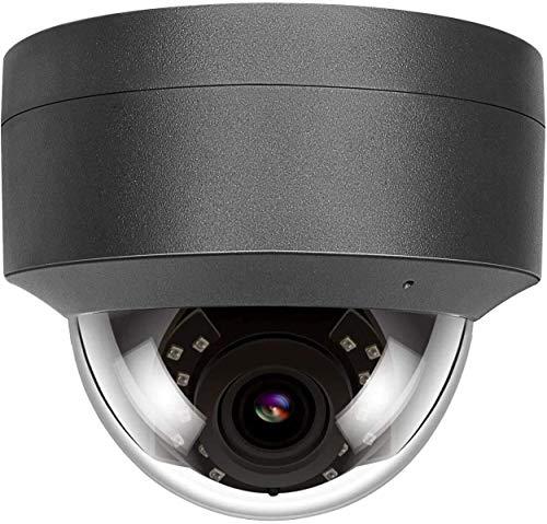 5MP HD POE IP Camera Outdoor, Telecamera di sicurezza Esterna da esterno Impermeabile, Telecamera di visione notturna IR Rilevazione movimento Support Onvif Compatible H.265 / H.264