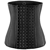 Waist Trainer for Women Weight Loss Corset Latex Waist Cincher Hourglass Body Shaper for Tummy Fat Burner