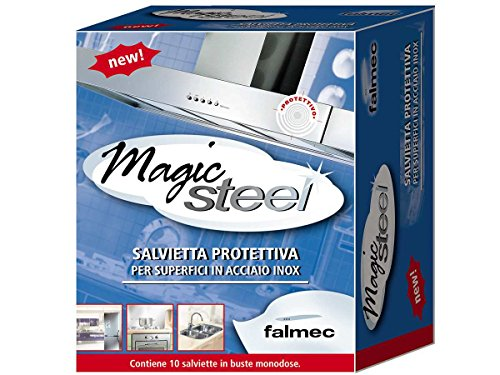 Falmec, Magic Steel, Salviette, 10 Pezzi