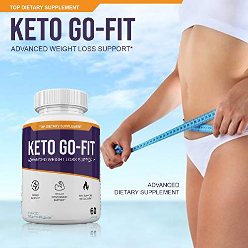 Keto Go-Fit - Advanced Weight Loss Support* - 120 Capsules - 60 Day Supply 2
