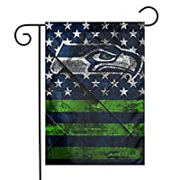 "Flag Size: This Garden Flag Is The Small, Mini Garden Size (12."" X 18""). Material: Made Of Durable Polyester. Weather And Fade Resistant To Keep Them Flying For Many Seasons. Includes: Only Garden Flag, Flag Stand Not Included (This Garden Flag For U..."