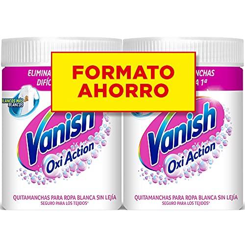 Vanish Oxi Action - Quitamanchas y Blanqueador para Ropa Bla
